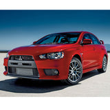 08-15 Mitsubishi Lancer EVO Front Bumper Cover Conversion with Black Grille  - PP