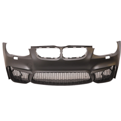 11-13 BMW E92 E93 LCI Front Bumper Conversion M4 Style with Air Duct Mesh Grille