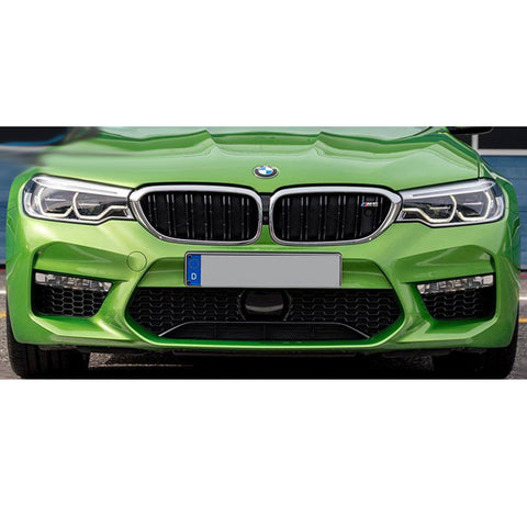 17-19 BMW G30 Sedan M5 Style Front Bumper Cover with Fog