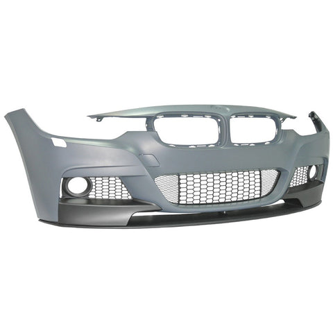 12-16 BMW F30 Front Bumper M Performance Style PP with Fog Lamp Cover