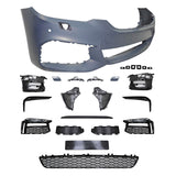 17-18 BMW G30 5 Series M-Tech Front Bumper Cover DRL Mesh - PP
