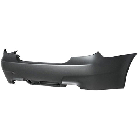 04-09 BMW E60 Rear Bumper M5 Style Twin Outlet Twin Muffler