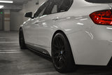 12-17 BMW F30 M-Tech Msport Side Skirt Extensions Performance Style