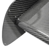 "57"" 3-D GT JDM Deck Trunk Spoiler Wing Real Carbon Fiber"