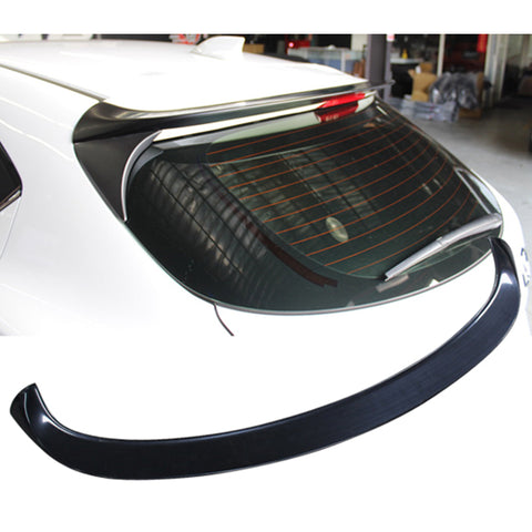 14-17 Mazda 3 5Dr Hatchback V Style Rear Roof Spoiler Wing - ABS