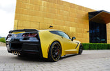 14-Up Chevy C7 Corvette ZR51 package Trunk Spoiler