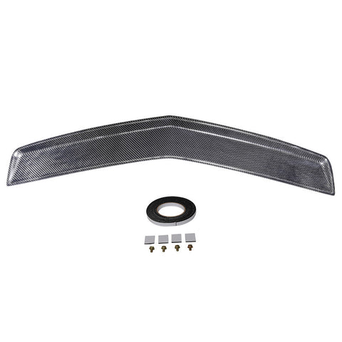 03-07 Cadillac CTS Trunk Spoiler OE Style Flash Mount - Carbon Fiber