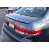 03-05 Honda Accord Sedan OE Flush Mount Trunk Spoiler Gray Primer FRP