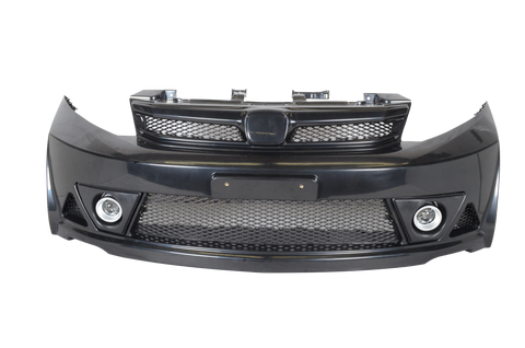 12-14 Honda Civic 4D Mugen Style Front Bumper Conversion USDM Only