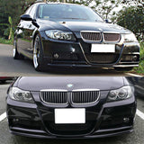 05-08 BMW E90 M-tech only Front Bumper Lip 3D Style