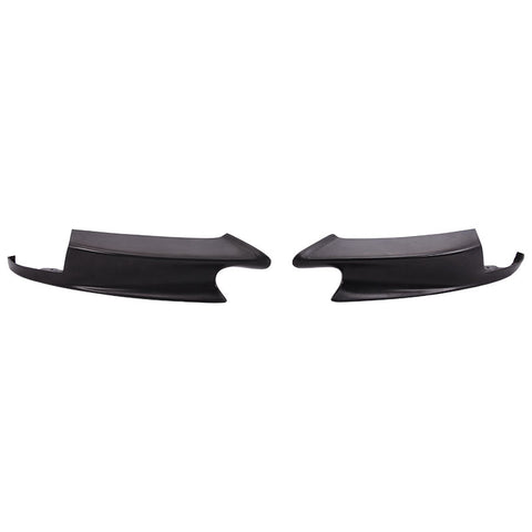 08-13 BMW E90 E92 E93 M3 only Performance Style Front Bumper Lip Splitter 2pcs