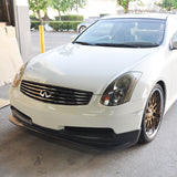 03-07 Infiniti G35 Coupe 2Dr GT Style PU Front Bumper Lip Spoiler