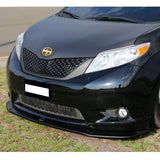 11-15 Toyota Sienna LE Model Only Front Bumper Lip - ABS