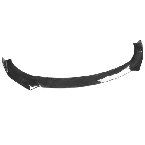 Universal A Style Front Bumper Lip Chin Spoiler Air Dam - Gloss Black
