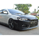 08-15 Mitsubishi Lancer FQ FQ440 Style Front Bumper Cover Conversion - PP