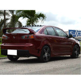 08-15 Mitsubishi Lancer FQ FQ440 Style Side Skirts Extension - PP