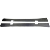97-04 Chevy Corvette C5 K Style Side Skirt Extension - Carbon Fiber