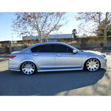 08-12 Honda Accord Sedan 4Dr OE Style Side Skirts