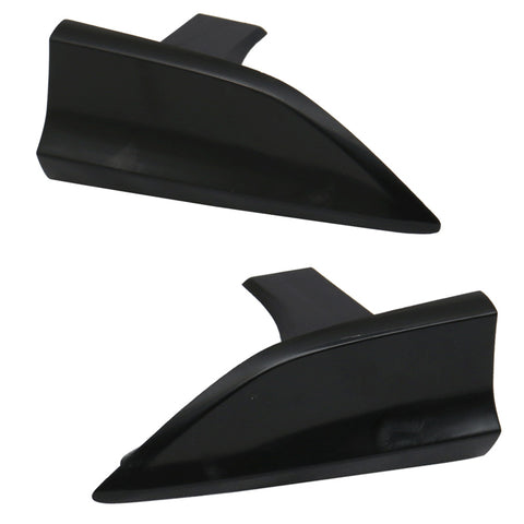 Universal V1 Style Winglet Add On For Side Skirt Extensions - PP