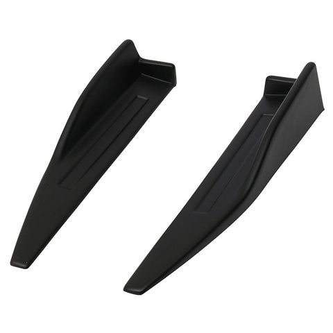 Universal Side Skirts Extensions Wind Blades Rocker Splitter 2PC Pair