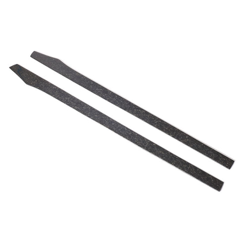 "77.5"" Side Skirts Extension Flat Bottom Line Lip LH RH - Forged Carbon Fiber"