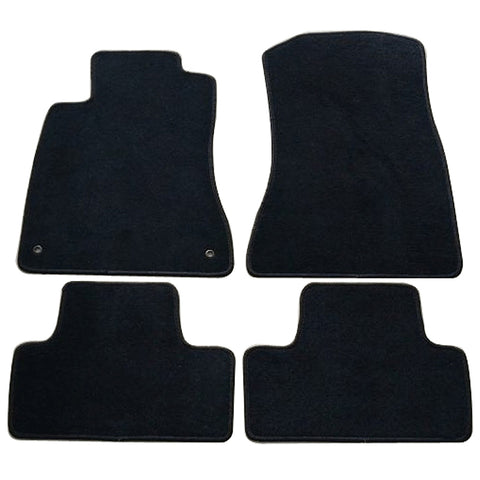 06-12 Lexus IS350 IS250 Car Floor Mats Front Rear Nylon