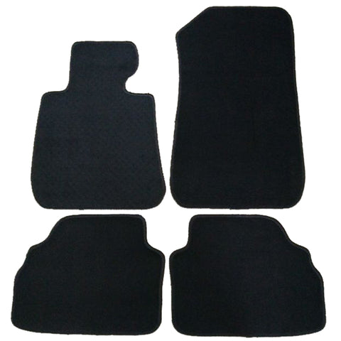 07-13 BMW E92 2Dr Car Floor Mats Front Rear Nylon