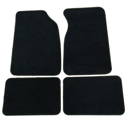 99-04 Ford Mustang 2Dr Car Floor Mats Front & Rear Nylon