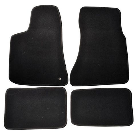 05-10 Dodge Charger 4Dr Car Floor Mats Front & Rear Nylon