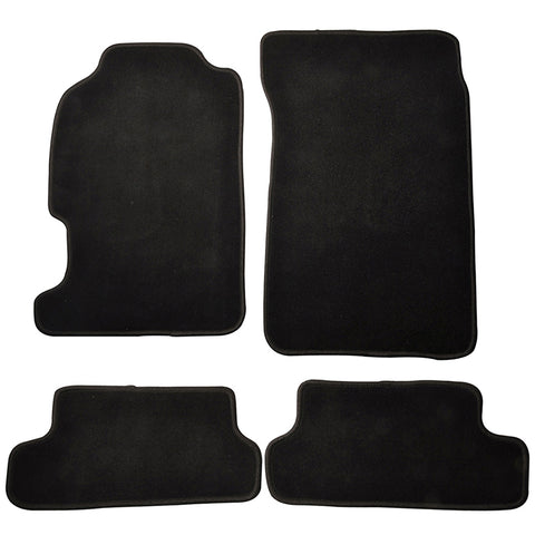 97-01 Honda Prelude 2Dr Car Floor Mats Front & Rear Nylon