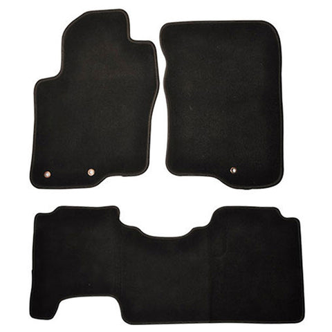 05-10 Nissan Frontier Car Floor Mat Front Rear Nylon
