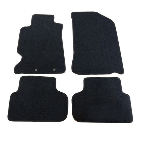 02-06 Acura RSX 2Dr Floor Mats Carpet Front & Rear Nylon Black 4PC