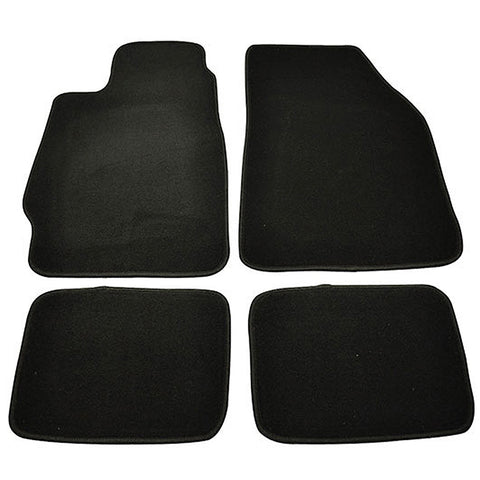 88-91 Honda CRX Civic Car Floor Mats Front Rear Nylon