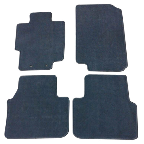 04-08 Acura TL Floor Mats Carpet Front & Rear Gray 4PC - Nylon