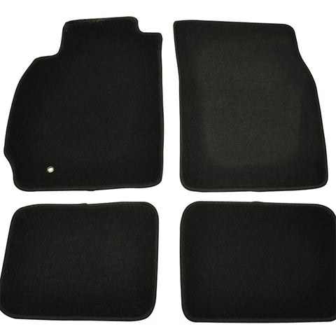 02-07 Mitsubishi Lancer EVO Car Floor Mats Front Rear Nylon