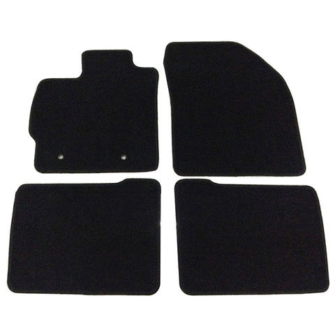 10-12 Toyota Prius 4Dr Car Floor Mats Front & Rear Nylon