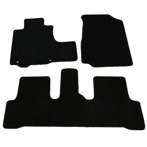 07-11 Honda CR-V 4Dr Car Floor Mats Front & Rear Nylon