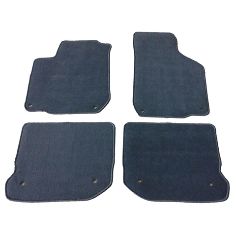 99-05 Volkswagen Gli Golf Jetta Mk4 Floor Mats Front Rear Gray 4PC Nylon
