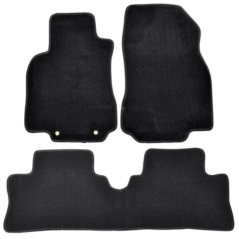 09-14 Nissan Cube Car Floor Mats Front & Rear Nylon
