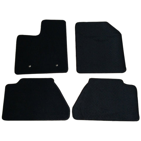07-13 Ford Edge 4Dr Car Floor Mats Front & Rear Nylon