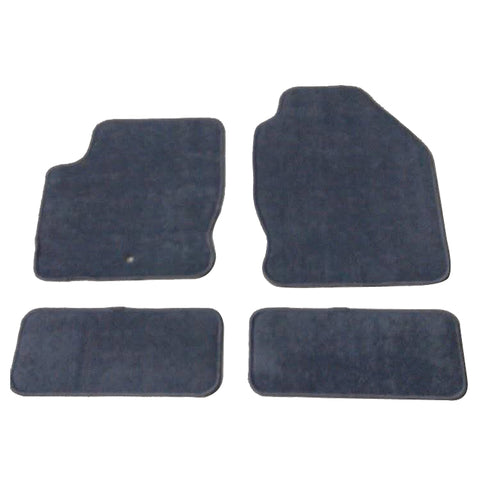 00-07 Ford Focus Floor Mats Carpet Front & Rear Gray 4PC Nylon