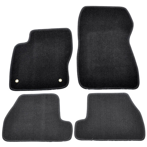 11-15 Ford Focus 2Dr 4Dr Car Floor Mats Front & Rear Nylon