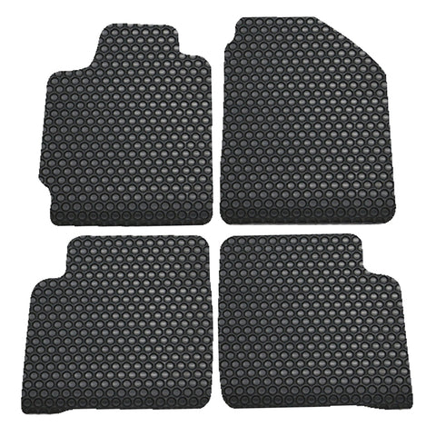 02-06 Nissan Altima 4Dr Floor Mats Cars Carpet Front Rear Latex Black 4PC