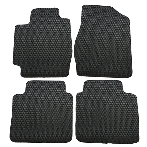 02-06 Toyota Camry 4Dr Floor Mats Carpet Front & Rear Latex Black 4PC