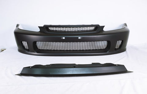 96-98 Honda Civic Front Bumper Cover Conversion N1 Style - PP