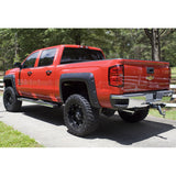 14-17 Chevy Silverado 1500 Long Bed Pocket Rivet Style Fender Flares