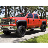 14-17 Chevy Silverado 1500 Short Bed Pocket Rivet Style Fender Flares