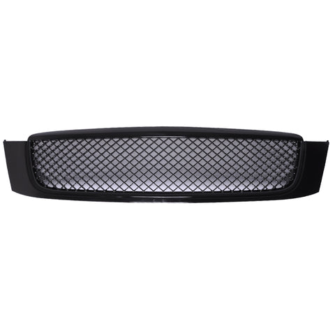 00-05 Cadillac Deville Diamond Black Mesh Hood Grille - ABS