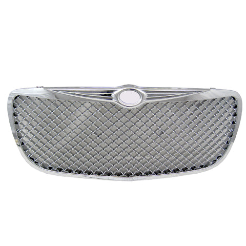 04-06 Chrysler Sebring Mesh Style Front Grill Grille Chrome - ABS