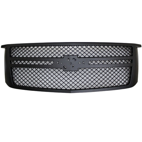 15-16 Chevy Tahoe Bentley Style Grille Black with moulding